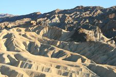 Free Zabriskie Point, Death Valley, California Royalty Free Stock Images - 8217069