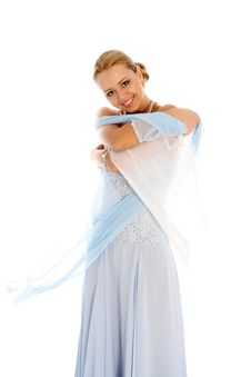 Free Dancer In Classical Dress Royalty Free Stock Photos - 8217238