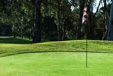 Free Golf Green Stock Photo - 8217440