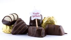 Free Assorted Chocolates Royalty Free Stock Photography - 8217567
