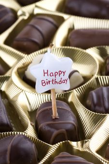 Chocolate Bonbon Royalty Free Stock Photography