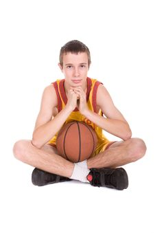 Free Basketball Player Royalty Free Stock Photos - 8217628