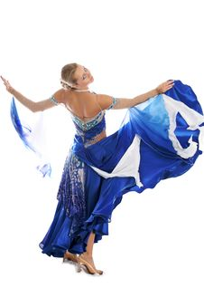 Dancer In Classical Dres Stock Images