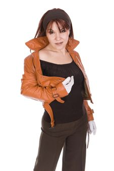 Free Glamour Woman Stock Photo - 8217810