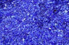 Free Blue Glass Shards Stock Image - 8217931