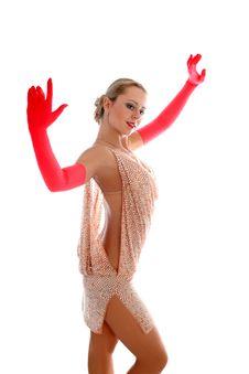 Free Latin Dancer Royalty Free Stock Photos - 8218148