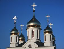 Free Russian Orthodox Church Royalty Free Stock Photography - 8218207