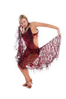 Free Latin Dancer Royalty Free Stock Photos - 8218418