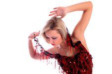 Free Latin Dancer Royalty Free Stock Image - 8218466
