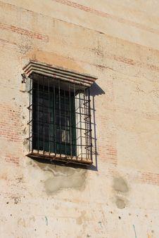 Free Barred Window ( Spain ) Stock Image - 8218731