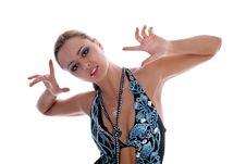 Free Latin Dancer Stock Photos - 8219103