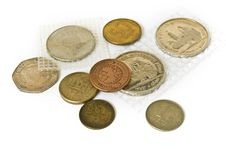 Free Old Coins Collection Royalty Free Stock Images - 8219329