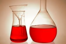 Free Chemical Retorts Stock Photography - 8219392