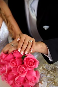 Free Wedding Rings Royalty Free Stock Photography - 8219477