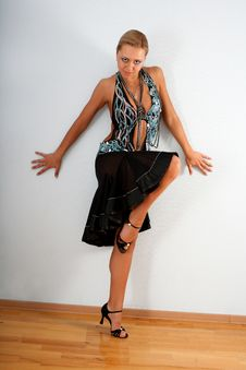 Free Latin Dancer Stock Photo - 8219480