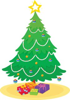 Free Christmas Tree Stock Images - 8219874