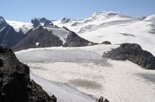 Free Mountain Glacier Royalty Free Stock Photos - 8219948