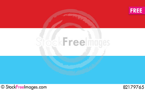 Free Flag Of Luxembourg Vector Icon Illustration Royalty Free Stock Photo - 82179765