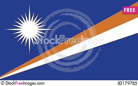 Free Flag Of Marshall Islands Vector Icon Illustration Royalty Free Stock Photo - 82179785