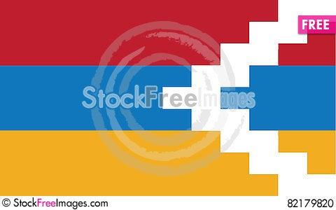Free Flag Of Nagomo-karabakh Vector Icon Illustration Stock Photo - 82179820