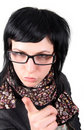 Free Crazy Girl In Glasses Stock Photo - 8222410