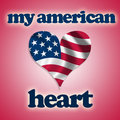 Free My American Heart Stock Photography - 8224102