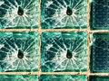 Free Cracks On Glass Royalty Free Stock Photos - 8227318