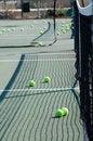 Free Tennis Balls And Net Stock Photos - 8228683
