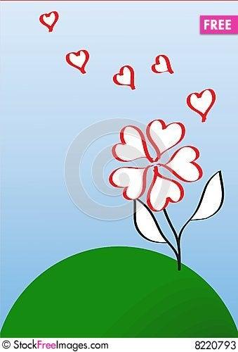 Free Love Flower Stock Photos - 8220793