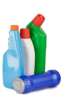 Free Cleaning Supplies Stock Photo - 8220090