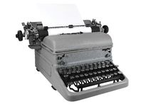 Free Antique Typewriter Royalty Free Stock Image - 8220306