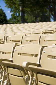 Free Stadium Seating Royalty Free Stock Photo - 8220385