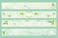 Free Spring  Banners Royalty Free Stock Photography - 8220827