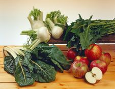 Free Vegetables And Apples Stock Images - 8221114