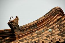 Free Chinese Roof Stock Image - 8221301