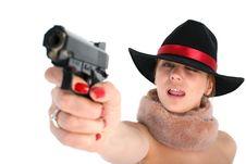 Free Gun Royalty Free Stock Images - 8221719
