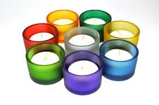 Free Colorful Candlestick Stock Photos - 8221843