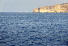Free Two Ships Off The Malta Shore Stock Photo - 8222980