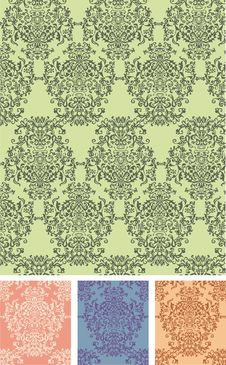 Free Seamless Vector Pattern Stock Photography - 8222992
