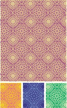 Free Seamless Vector Pattern Stock Image - 8223011