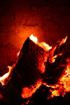 Free Fireplace Stock Photography - 8223102