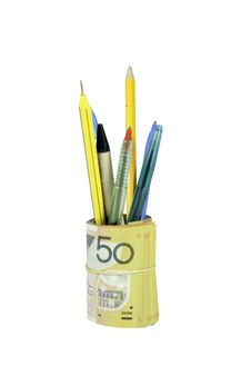 Free Expensive Pen Holder Royalty Free Stock Photo - 8223225