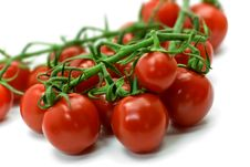 Free Red Cherry Tomato Close Up Royalty Free Stock Image - 8223566