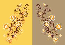 Free Floral Ornament Royalty Free Stock Images - 8223599