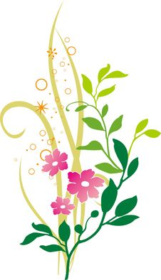 Free Floral Ornament Royalty Free Stock Image - 8223766