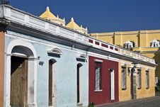 Free Colorful Streets Of Antigua Royalty Free Stock Photo - 8224065
