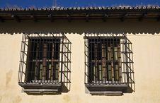 Free Windows Seen In Antigua Stock Image - 8224091