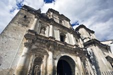 Free Cathedral In Antigua Stock Photography - 8224152