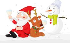Free Christmas Cheer Royalty Free Stock Images - 8224639