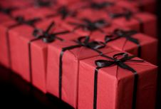 Free Gift Boxes Royalty Free Stock Photography - 8224847